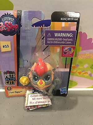 Littlest Pet Shop Pets In The City Baboon #33 Retired Hard To Find