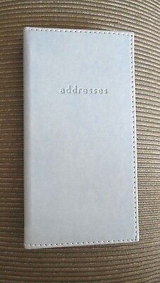 Hallmark Address Email Phone Book Light Blue ~ New