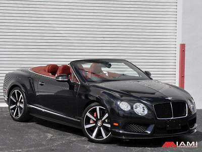 2013 Bentley GTC GTC Mulliner Carbon Package 2013 Bentley Continental GTC V8 Mulliner Carbon Package!