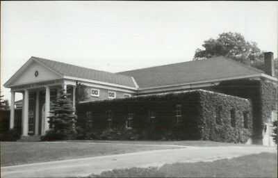 Kents Hill ME Newton Gym 1950s-60s Real Photo Postcard