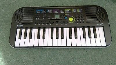 casio sa 47 entry level musical keyboard with tutorials picclick uk. Black Bedroom Furniture Sets. Home Design Ideas