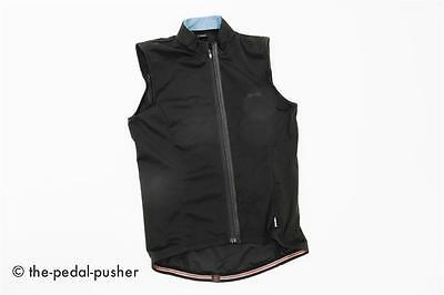 JAGGAD Mens Gilet Cycling Vest-Black/Blue-Small-Road Bike/CX/MTB-S