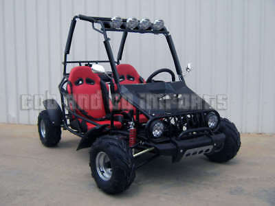 TWIN SEATER GoKart ATV REVERSE Junior Dune Buggy Semi Auto Off Road Save 125cc