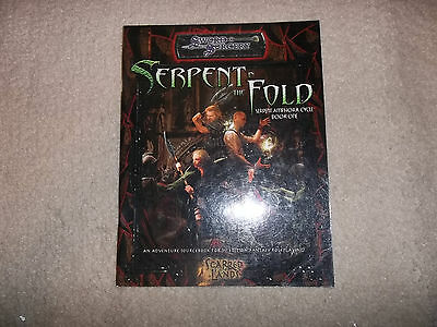 D&D D20 Sword & Sorcery Serpent in the Fold