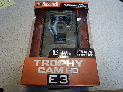 Bushnell Trophy Cam E3 Hd  12Mp  New