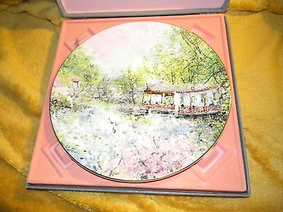 "Royal Doulton Chen Chi  "" Garden of Tranquility "" ...limited edition"