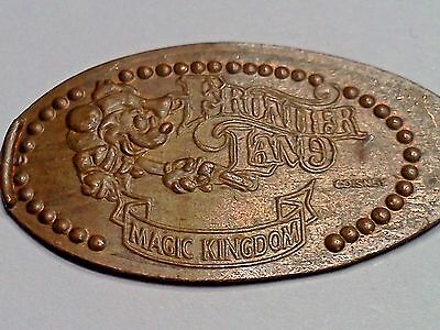 DISNEY FRONTIER LAND MAGIC KINGDOM MICKEY MOUSE-Elongated / Pressed Penny P-70