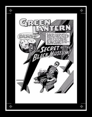 Gil Kane Showcase #24 Rare Production Art Pg 1 Monotone