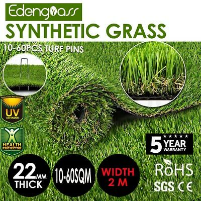 10-60 22mm SQM Synthetic Turf Artificial Grass Plastic Fake Plant Lawn Flooring