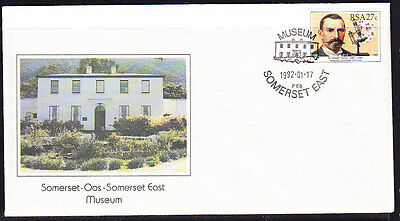 South Africa 1992 - Somerset Museum Souvenir Cover - Unaddressed