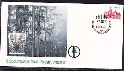 South Africa 1988 - Sabie Forestry Museum Souvenir Cover - Unaddressed