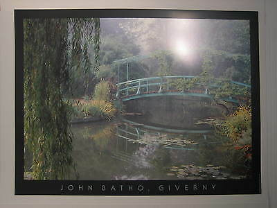Plakat Photo Poster - John Batho - Giverny - Frankreich