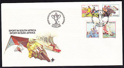 South Africa 1983 - Sports Souvenir Cover - Unaddressed
