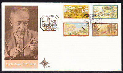South Africa 1976 Erich Meaer First Day Cover - Unaddressed