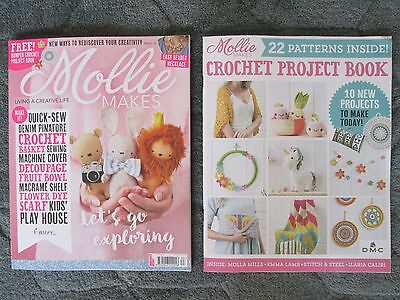 Mollie Makes Craft Magazine - Latest Issue 83 Sept 2017 + Crochet Project Book