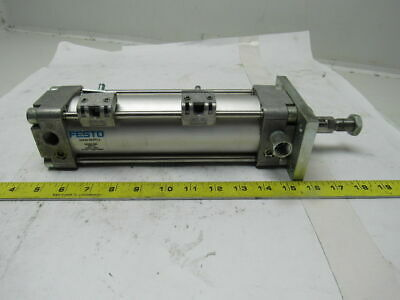 """Festo DNG-63-153-PPV-A Pneumatic Cylinder 6"""" Stroke 20mm Rod 145 PSI"""