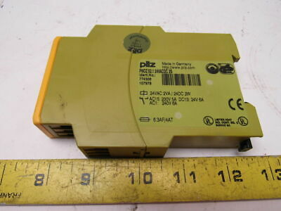 PILZ PNOZx2.1 Ident No. 774306 24VACDC 2S Safety Relay