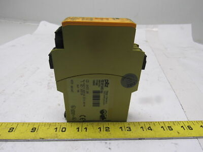 PILZ Pilz PZE X4P Ident No. 777585 24VDC 4n/o Safety Relay