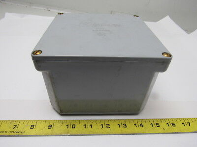 Kraloy JB664 6x6x4 PVC Junction Electrical Enclosure Box W/Cover