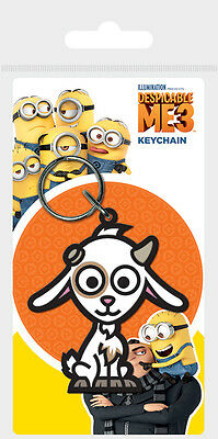 Despicable Me 3 Lucky The Goat Rubber Keyring Licensed Bnib Agnes Unicorn
