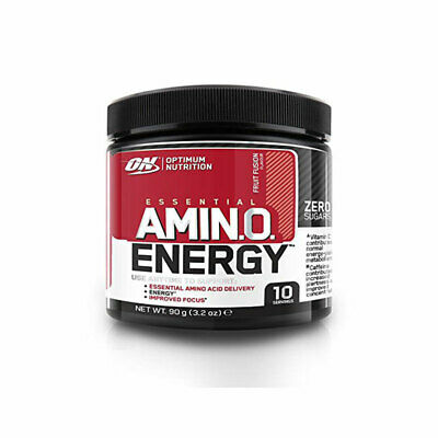 (13,22 EUR/100 g) Optimum Nutrition Essential Amino Energy 90g Pulver NEU OVP