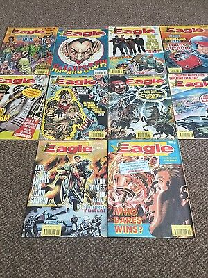 the eagle-dan dare comic 1990 job lot-1