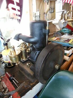 VERY RARE Roberts inboard boat motor earliest known example 1T 4hp hit miss See