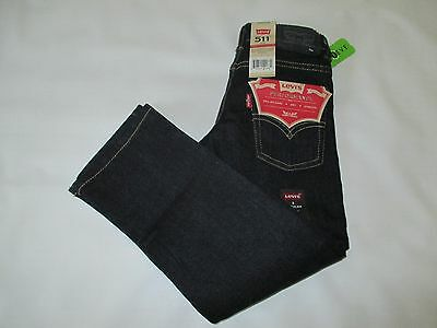 NWT Boy's Size 5 LEVI STRAUSS & CO. 511 Slim Fit Blue Jeans FREE USA SHIPPING