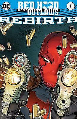 RED HOOD AND THE OUTLAWS REBIRTH #1, New, First print, DC Comics (2016)