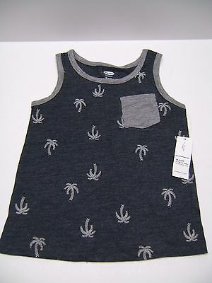 Old Navy - Palm Tree Print Sleeveless Top 18-24 mo