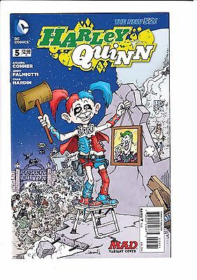 HARLEY QUINN #5 (NEW 52), HARDIN 1:25 MAD VARIANT, New, DC Comics (2014)