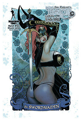 TAROT WITCH OF THE BLACK ROSE #103, STUDIO COVER, New, Broadsword (2016)