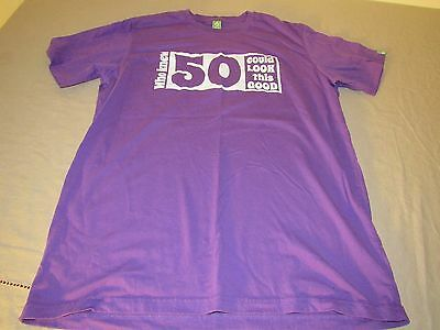 50th Birthday T Shirt Who Knew 50 Could Look this Good Mens Large