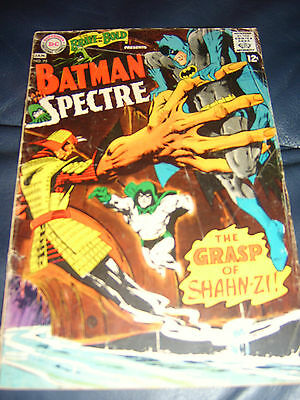 Brave And The Bold #75 Jan 1968 (VG) Batman and Spectre Silver Age