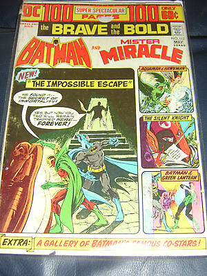 Brave And The Bold #112 May 1974 (FN-) Batman & Mr Miracle Bronze Age Giant Size