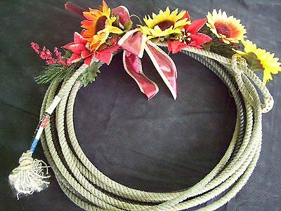 Collectible Authentic Western Lariat Lasso, Western Decor.
