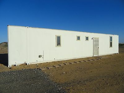 Custom Build 48 FT Aluminum Container Home Self Contained 1 Bedrooms, Bathroom