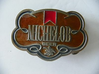 Michelob Pewter Belt Buckle