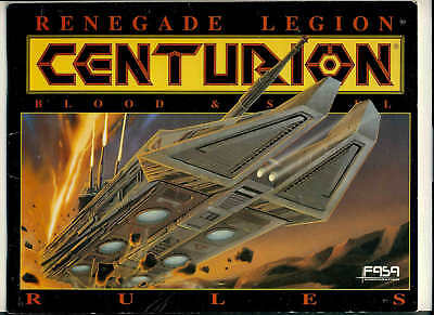 Renegade Legion CENTURION Blood & Stell Game Rules 56 pages ref1000158