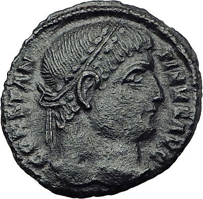 Constantine I the Great  326AD Ancient Roman Coin Military camp gate  i63579