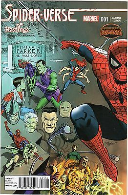 Spider-Verse #1 (2015) Hastings Variant Marvel Direct J&R