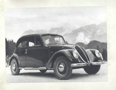 1935 1948 Fiat 1500 ORIGINAL Factory Photograph wy3733