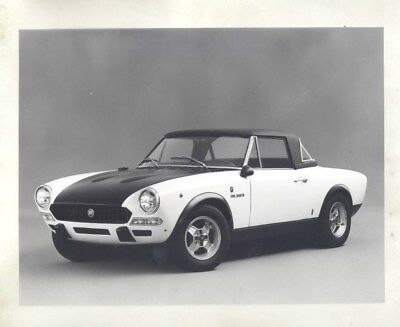 1972 ? Fiat Abarth 124 Rally ORIGINAL Factory Photograph wy3745