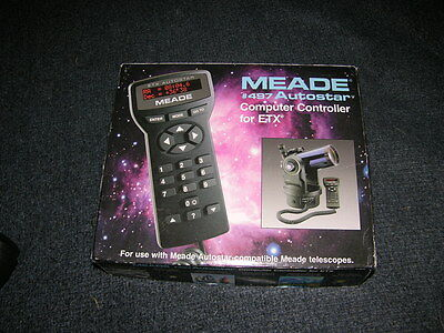 Meade #497 Autostar Computer Controller for ETX Telescopes Mint in Box