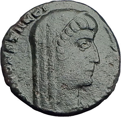 CONSTANTINE I the Great  347AD Ancient Roman Coin Posthumous Issue i63604