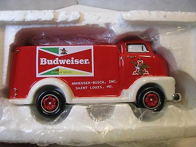 Department 56 Snow Village Budweiser Delivery Truck