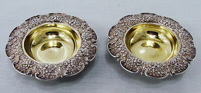 Tiffany & co. sterling silver OPEN SALT CELLARS 1854-1869