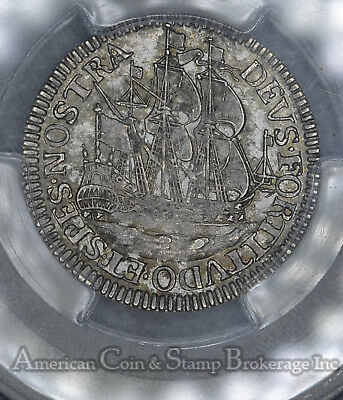 Netherlands-West Friesland 6 Stuivers 1678 MS64 PCGS silver RARE condition