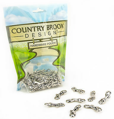 25 - Country Brook Design® 1/4 Inch Swivel Snap Hooks