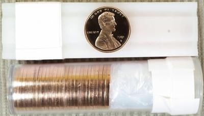 2001-S Proof Lincoln Cent - ROLL OF 50 - Best Value @ CherrypickerCoins